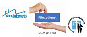 Zum 01.08.2020 haben wir unseren     Pflegedienst, Sozialstation Garstedt     an die     Pflegediakonie in den Kirchenkreisen Hamburg-West/ Südholstein und Rantzau-Münsterdorf gGmbH     übergeben.