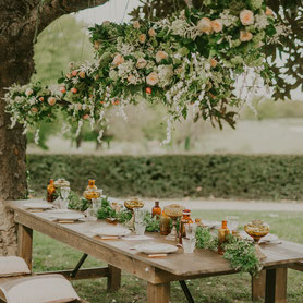 table fleurie - Histoires Botaniques