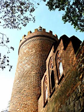 Fangelturm von der Stadtseite