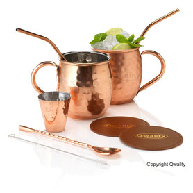Moscow Mule Beker Set Qwality