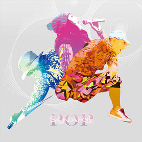 "SOUNDAHOLIC mini album ""POP"" cover"