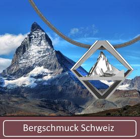 Bergschmuck Kette Collier Schweiz Matterhorn