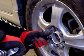タイヤ交換,持込タイヤ交換