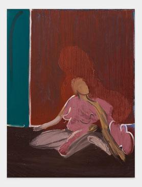 Kniende,Malerei,Farid,Sabha,Eitempera,Figurativ,2010