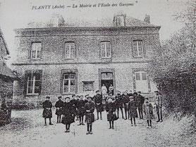 Ecole des garçons (dans les années 1910)