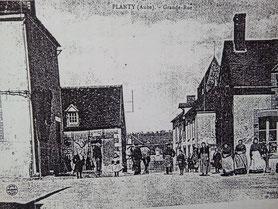 Planty, café, épicerie, boulangerie 1910/12