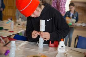 Kleine Künstler der LichtwarkSchule. Foto: S. Heldt