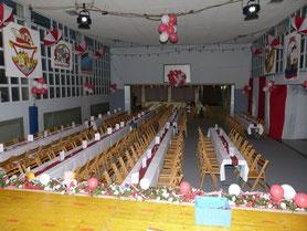 Fertige Halle 2011 - es kann los gehen!