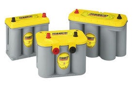 Optima Batterien Sortiment bei HC Hurricane Carpart GmbH