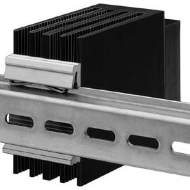 Fischer Elektronik ヒートシンク取り付けクリップ DINレール用 英文カタログ