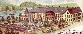 Haus Bungards, Solingen-Grünewald, um den I. Weltkrieg