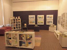 Ausstellungsraum vorher