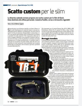 Recensione dello Scatto TR-143X su Armi e Tiro di Maggio 2020