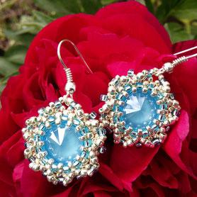 сережки, украшения, бисер, earrings, woman gift