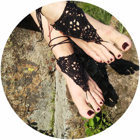 Women Barefoot Sandals, Gift for Women, Wedding Jewelry, Boho, Gypsy, Hippie, bellydance