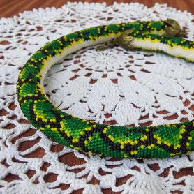 necklace, ожерелье, бусы, жгут из бисера, бижутерия, украшение, украинская бижутерия