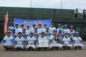優勝―根上学童野球クラブ