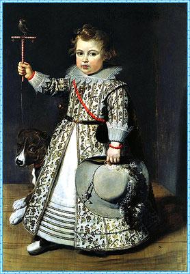Фламандский мальчик, 1625 год