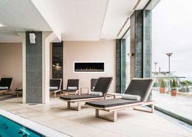 kamin für hotel, spa , elektrokamin hotel wellness