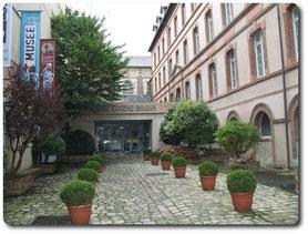 Entrée du musée, sur site Musée Boudin