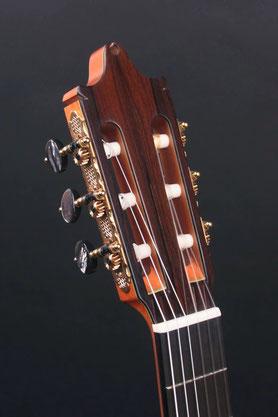 Heeres Guitars Spanish Headsock, Rodgers Tuners