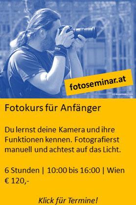 Fotokurs für Anfänger