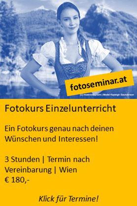 Fotokurs Wien Einzelunterricht