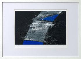 "Peter Lorenz ""56/300"" 50 x 65cm, Serigrafie, gerahmt. Preis 75.-€"