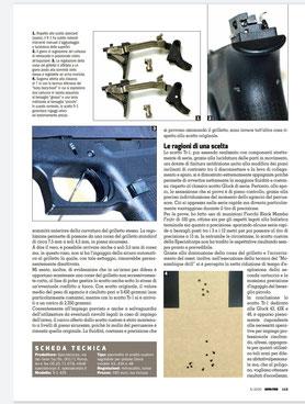 Montaggio e prova a fuoco TR-1 43X su Armi e Tiro di Maggio 2020