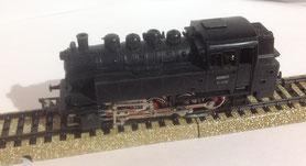 3031-Maerklin-Tenderlokomotive-BR-81004-Modell-1959-OVP CHF 48.00 (1007)