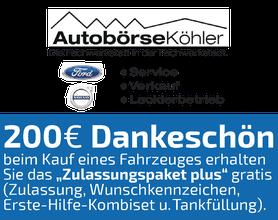 Ford und Volvo Köhler, Alsfeld, Autobörse