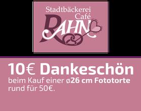 10 EURO Dankeschön-Gutschein, Stadtbäckerei Rahn, Alsfeld