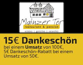Gasthaus Mainzer Tor, Alsfeld