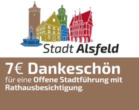 7 EURO Dankeschön-Gutschein, Alsfeld
