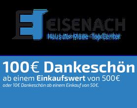 100 EURO Dankeschön Gutschein, Eisenach GmbH, Haus der Mode, Top-Center, Bekleidung, Alsfled