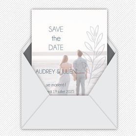 Save the date mariage gif animé- Save the date mariage virtuel-Save the date mariage digital-Save the date mariage numérique animé-électronique-à envoyer via les réseaux sociaux-whatsapp-facebook-messenger-mms-couronne d'epi-chic bohême-photo
