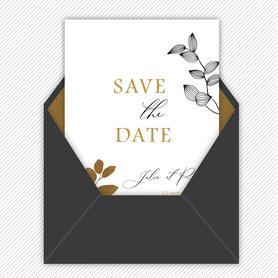 Save the date mariage gif animé- Save the date mariage virtuel-Save the date mariage digital-Save the date mariage numérique animé-électronique-à envoyer via les réseaux sociaux-whatsapp-facebook-messenger-mms-tiges végétales