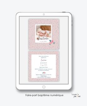 faire-part baptême fille numérique-faire part baptême digital-faire part numérique-pdf imprimable-pdf numérique-faire part connecté-motif etoile-pivoine-faire part à imprimer soi-même-faire-part à envoyer par sms-msm-A envoyer par mail-reseau sociau