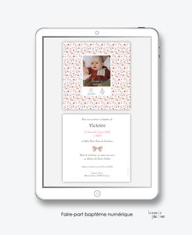 faire-part baptême fille numérique-faire part baptême électronique-faire part numérique-imprimable-pdf numérique-faire part connecté-motif liberty fleurs-religieux-faire part à imprimer-faire-part à envoyer par mms-à envoyer par mail-réseau sociaux