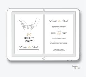 faire-part-mariage-numérique-faire-part-mariage-digital-faire-part-numérique-pdf-numérique-faire-part-mariage-electronique-faire-part-à-envoyer-par-mms-par-mail-réseaux-sociaux-whatsapp-facebook-messenger-mains-entrelacées-mariage-élégant-chic-minimaliste