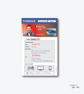invitation anniversaire homme connecté-facebook