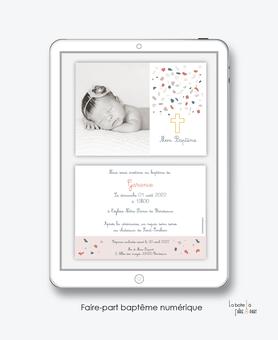 faire-part baptême fille numérique-faire part baptême digital-faire part numérique-pdf imprimable-pdf numérique-faire part connecté-arbre religieux- terrazzo -faire part à imprimer soi-même-faire-part à envoyer mms-à envoyer par mail-réseaux sociau
