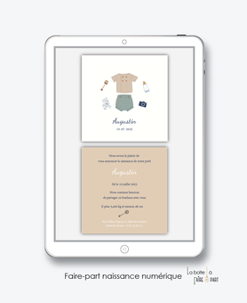 faire-part naissance garçon numérique-faire part naissance digital-faire part numérique-pdf imprimable-pdf numérique-faire part connecté-layette-bloomer-vertement vintage-faire-part naissance à envoyer par mail ou mms-réseaux sociaux-via smartphone