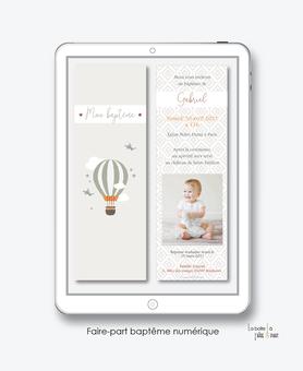 faire-part baptême garçon numérique-faire part baptême digital-faire part numérique-pdf imprimable-pdf numérique-faire part connecté-montgolfière-nuage-faire part à imprimer soi-même-faire-part à envoyer par sms ou msm-faire-part à envoyer par mail