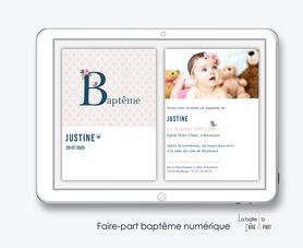 faire-part baptême numérique-faire part baptême électronique-faire part numérique-pdf imprimable-pdf numérique-faire part connecté- monogramme petit oiseau-faire part à imprimer soi-même-faire-part à envoyer par sms  ou mms- faire-part à envoyer par mail