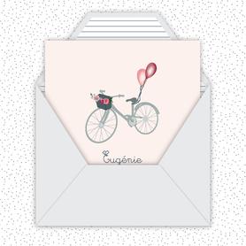 faire-part naissance fille numérique-faire part naissance digital-faire-part digital -faire part connecté-vélo-ballon-bicyclette-format carré - faire part à imprimer-faire-part à envoyer par sms-mms-par mail-réseaux sociaux-whatsapp-facebook