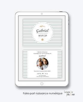 faire-part naissance garçon numérique-faire part naissance digital-faire part numérique-pdf imprimable-pdf numérique-faire part connecté-rayures-blé-étoiles -faire part à imprimer -faire-part à envoyer par sms-mms- à envoyer par mail-réseau sociaux