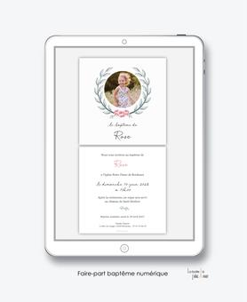 faire-part baptême fille numérique-faire part baptême électronique-faire part numérique-imprimable-pdf numérique-faire part connecté- couronne blé et roses -faire part à imprimer soi-même-faire-part à envoyer par mms-à envoyer par mail-réseau sociaux