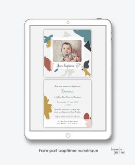 faire-part baptême numérique-faire part baptême digital-faire part numérique-pdf imprimable-pdf numérique-faire part digital- motif abstrait-terrazzo-faire part à imprimer soi-même-faire-part à envoyer par sms-mms -à envoyer par mail-réseaux sociaux