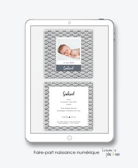 faire-part naissance garçon numérique-faire part naissance électronique-faire part numérique-pdf imprimable-pdf numérique-faire part connecté-motif  graphique -à imprimer soi-même-faire-part naissance à envoyer par mail